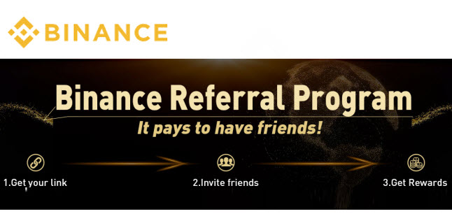 Binance referral program link code cryptocurrency